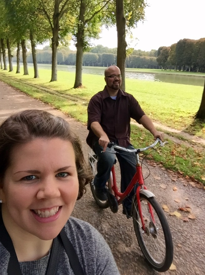 Versailles by bike is the way to do it!