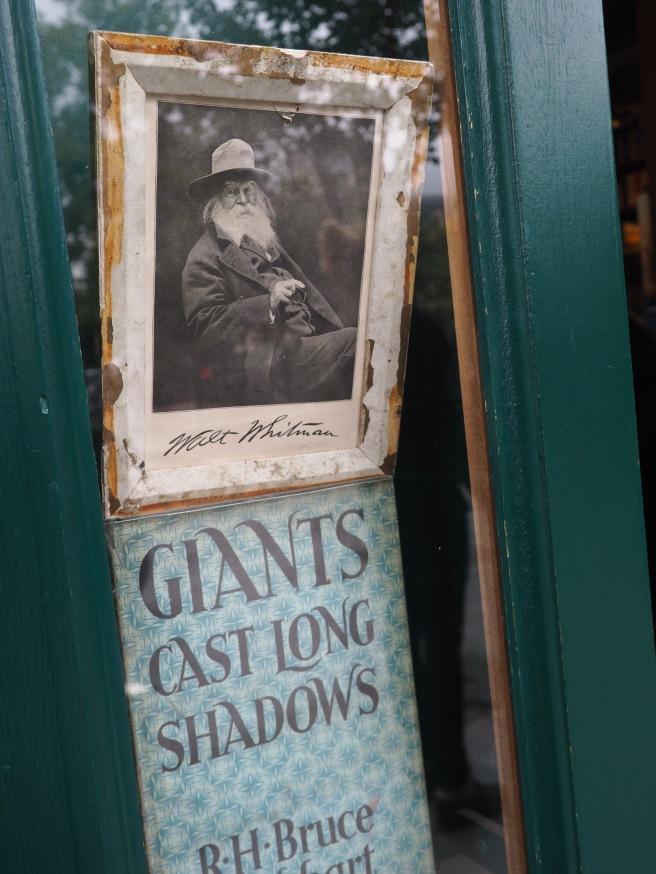 Love this photo of Walt Whitman.