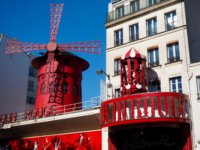 The famous Moulin Rouge.