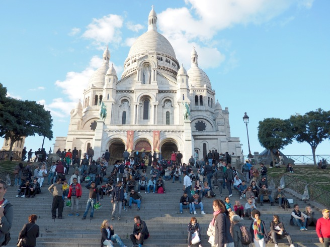 The steps of the Sacre Coeur