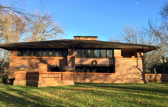 Frank Lloyd Wright Oak Park, IL // List Maker Picture Taker