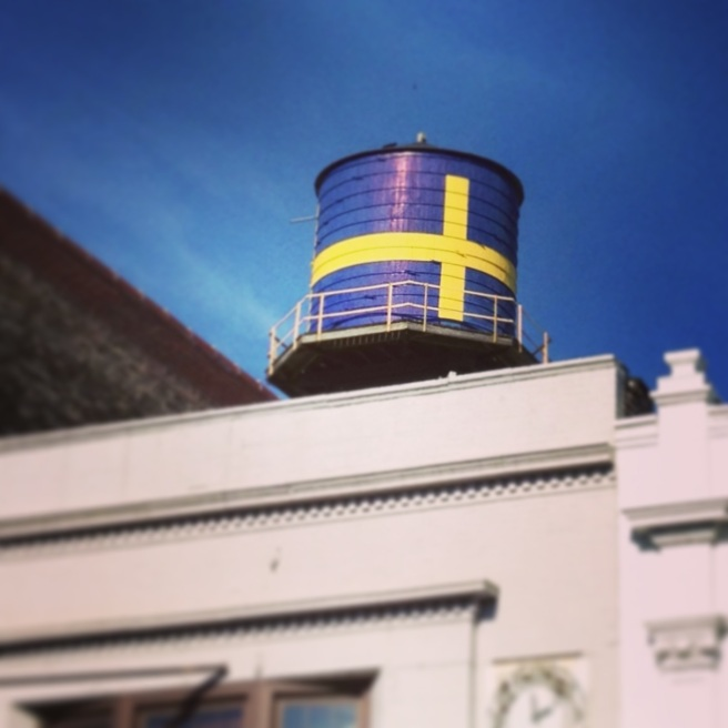 andersonville chicago swedish flag watertower