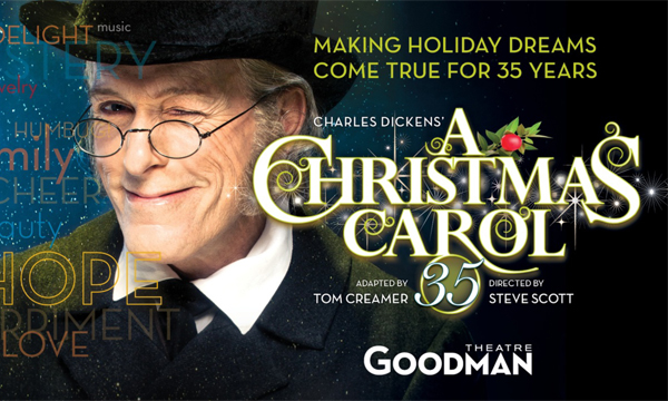 christmas carol goodman theater chicago